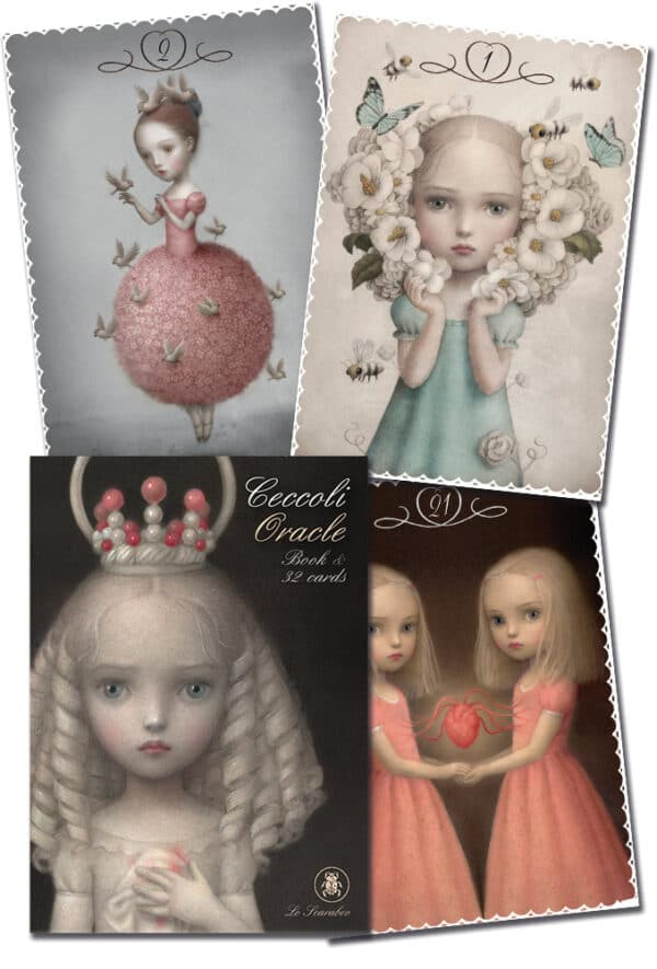 Ceccoli Oracle Cards & Book Cards