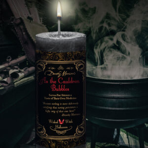 As The Cauldron Bubbles Candle