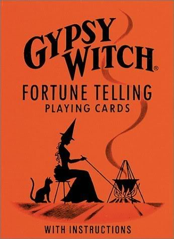 The Gypsy Witch Fortune Telling Playing Cards